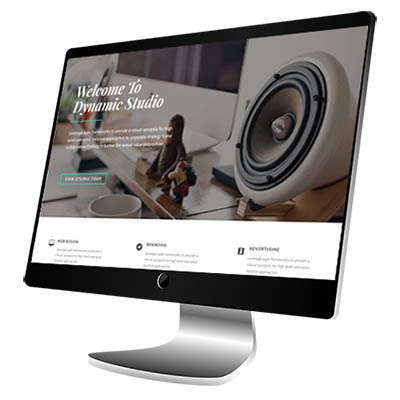 Website Design for local studio business